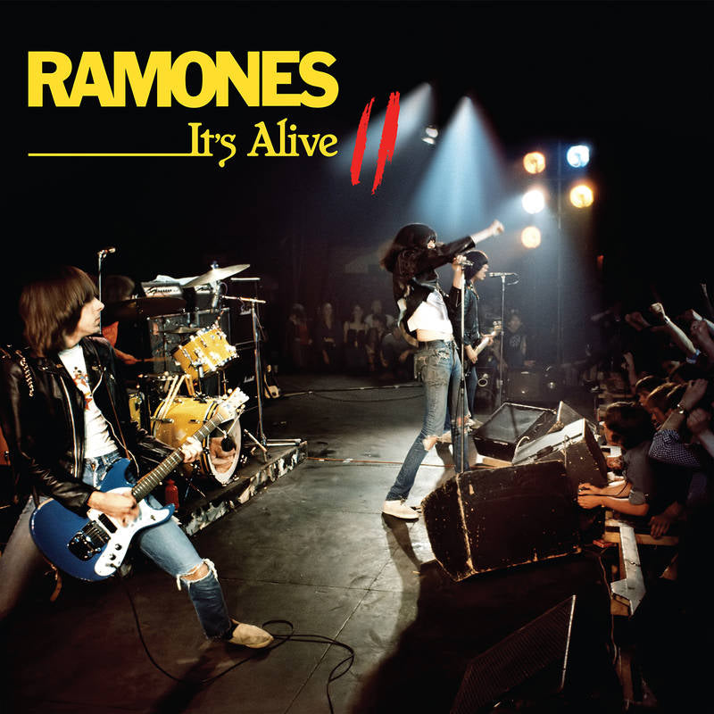 "RAMONES : "" IT'S ALIVE II "" - RSD SEPTEMBER 26TH 2020 (2020) 2LP  8,000 WORLDWIDE"