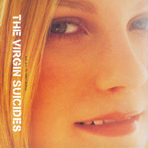 """ THE VIRGIN SUICIDES ""  : MUSIC FROM THE MOTION PICTURE - RSD OCTOBER 24TH 2020 (2020) LP PINK SPLATTER VINYL  7,500 WORLDWIDE"