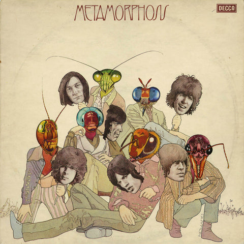 ROLLING STONES , THE : METAMORPHOSIS  - RSD OCTOBER 24TH 2020 (2020) LP GREEN VINYL WITH IRON ON T SHIRT TRANSFER