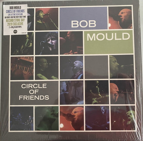 "MOULD , BOB  : "" CIRCLE OF FRIENDS "" - RSD OCTOBER 24TH 2020 (2020) 2LP CLEAR VINYL"