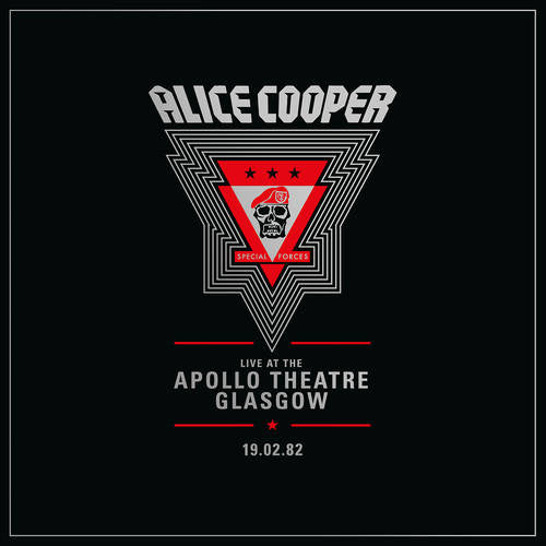COOPER , ALICE : LIVE AT THE APOLLO THEATRE GLASGOW 1982  - RSD OCTOBER 24TH 2020 (2020) 2LP GATEFOLD SLEEVE 7,000 WORLDWIDE