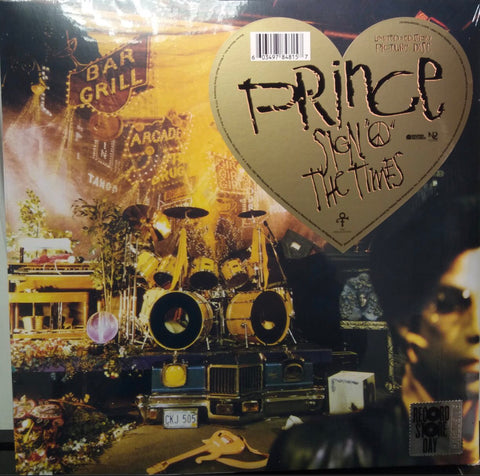 "PRINCE : "" SIGN OF THE TIMES "" - RSD OCTOBER 24TH 2020 (2020) 2LP LIMITED EDITION PICTURE DISCS"