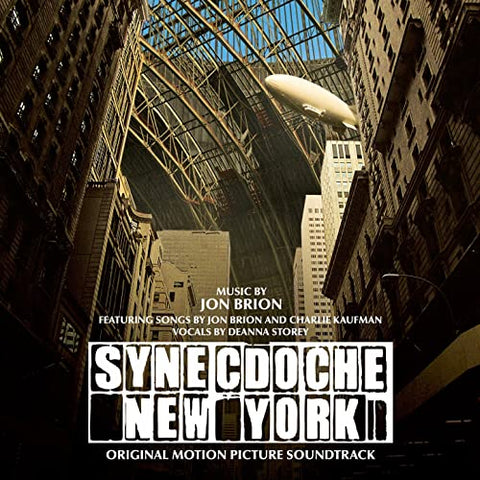 """ SYNECDOCHE NY - ORIGINAL SOUNDTRACK "" : JON BRION - RSD OCTOBER 24TH 2020 (2020) LP WHITE VINYL LIMITED TO 1,000 WORLDWIDE"