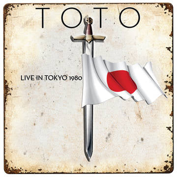"TOTO : "" LIVE IN TOKYO 1980 "" - RSD OCTOBER 24TH 2020 (2020) LP RED VINYL 2,750 WORLDWIDE"