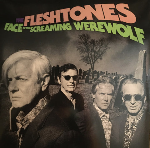 "FLESHTONES , THE : "" FACE OF THE SCREAMING WEREWOLF "" - RSD OCTOBER 24TH 2020 (2020) LP CLEAR VINYL"