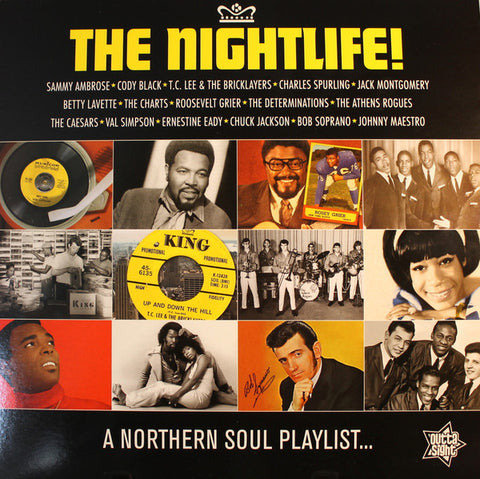 THE NIGHTLIFE  : VARIOUS ARTISTS (2019)  :  COMPILATION LP