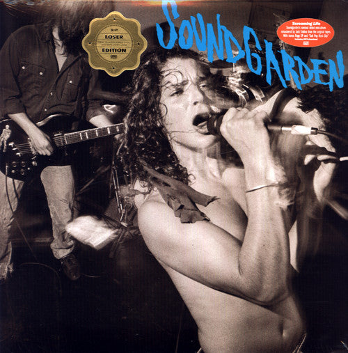 SOUNDGARDEN : SCREAMING LIFE / FOPP (1990) 2LP 2013 REMASTERED FROM ORIGINAL TAPES REISSUE