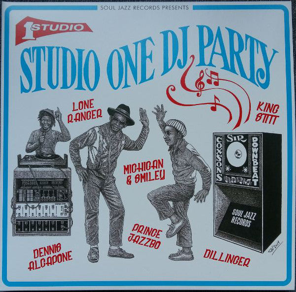 STUDIO ONE DJ PARTY : SOUL JAZZ RECORDS VARIOUS ARTISTS (2019) 2LP