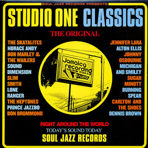 STUDIO ONE CLASSICS : SOUL JAZZ RECORDS VARIOUS ARTISTS (2004) 2LP