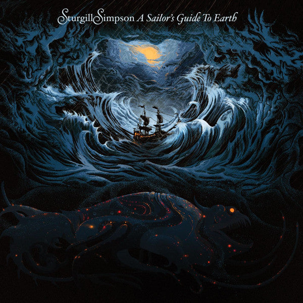 STURGILL SIMPSON : A SAILORS GUIDE TO EARTH (2016) LP