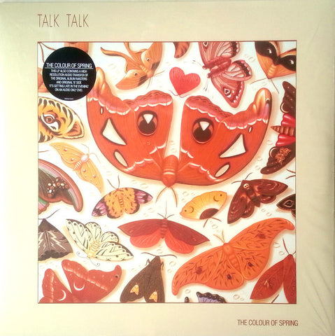 TALK TALK : THE COLOUR OF SPRING (1986) LP 2014 REISSUE WITH A BONUS AUDIO ONLY DVD