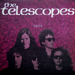TELESCOPES, THE : TASTE (1989) LP 2019 LIMITED VINYL EDITION WITH DELUXE BOOKLET IN GATEFOLD SLEEVE