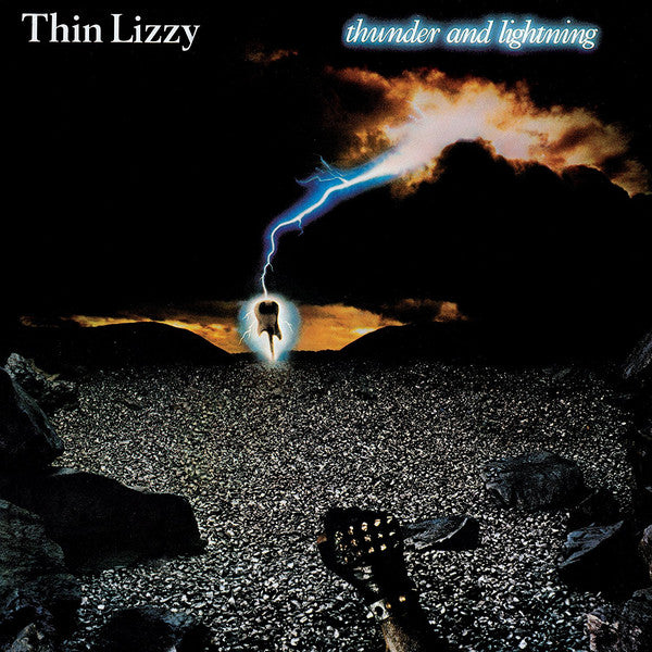 THIN LIZZY : THUNDER AND LIGHTNING (1983) LP 2020 REISSUE