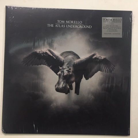MORELLO, TOM : THE ATLAS UNDERGROUND (2018) LP 180 GRAM VINYL WITH FOLD OUT POSTER