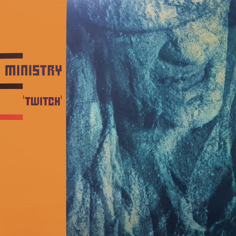 MINISTRY : TWITCH (1986) LP 2019 REPRESS