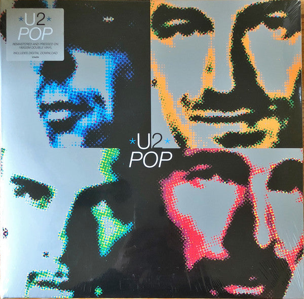 U2 : POP (1997) 2LP 2018 REMASTERED REISSUE GATEFOLD SLEEVE