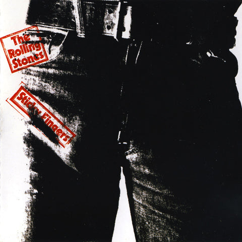 ROLLING STONES , THE : STICKY FINGERS ( 94 REMASTERED UK ISSUED ) ( BOX ) USED CD
