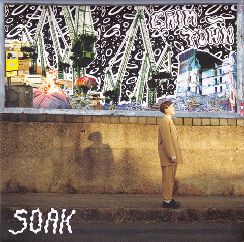 SOAK : GRIM TOWN ( SEALED CD ) ( BOX ) USED CD SEALED.