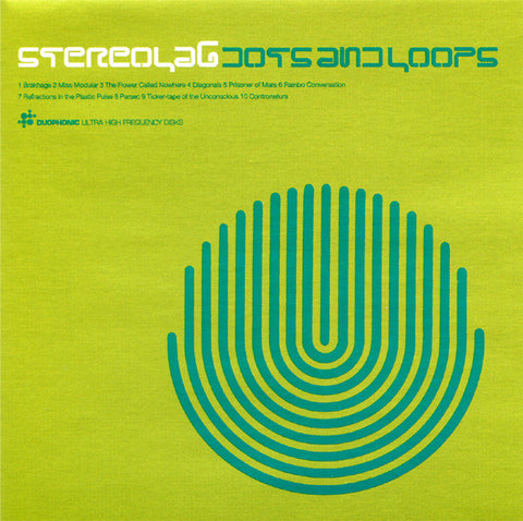 STEREOLAB : DOTS AND LOOPS ( U.S CLUB EDITION ) ( BOX ) USED CD .