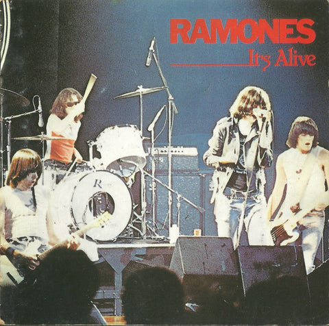 RAMONES : ITS ALIVE ( JAPANESSE ISSUE ) ( BOX ) USED CD