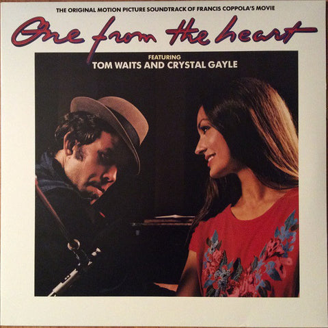 WAITS, TOM & CRYSTAL GAYLE : ONE FROM THE HEART (1982) 2LP 2009 REISSUE 180 GRAM