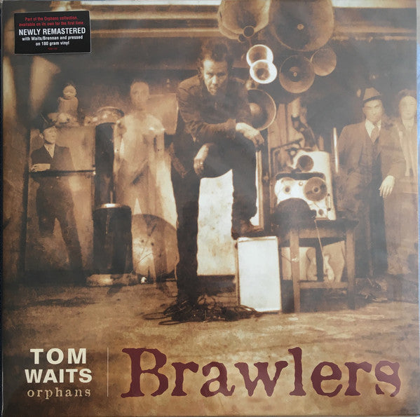 WAITS, TOM : BRAWLERS (2006) 2LP 2018 REMASTERED REISSUE 180 GRAM VINYL