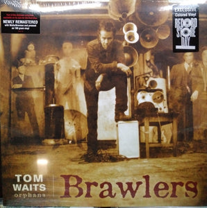 WAITS, TOM : BRAWLERS RSD COLORED VINYL (2006) 2LP 2018 REMASTERED REISSUE 180 GRAM VINYL