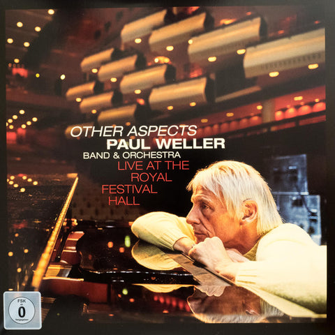WELLER, PAUL : OTHER ASPECTS PAUL WELLER BAND & ORCHESTRA  LIVE AT THE ROYAL ALBERT HALL (2019) 3LP & DVD