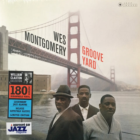 MONTGOMERY, WES : GROOVE YARD (1961) LP 2018 STEREO REISSUE ON 180 GRAM VINYL IN GATEFOLD SLEEVE