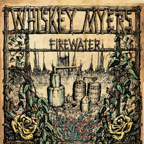 "WHISKEY MYERS : "" FIREWATER "" 2LP WORLDWIDE RSD AUGUST 29TH 2020 (2020) 2LP"