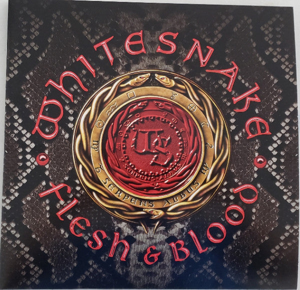 WHITESNAKE : FLESH & BLOOD (2019) 2LP 180 GRAM
