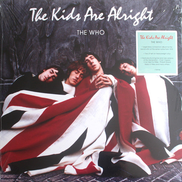 WHO, THE : THE KIDS ARE ALRIGHT (1979) 2LP 2019 REMASTERED REISSUE 180 GRAM EDITION