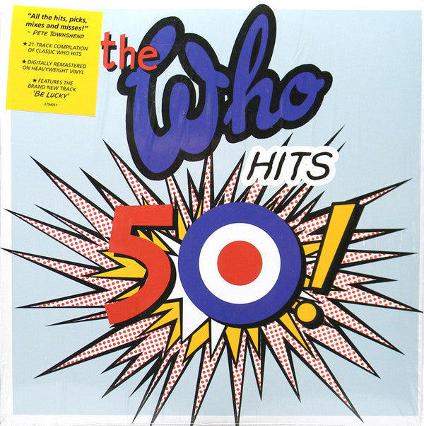 WHO, THE : THE WHO HITS 50 (2014) 2LP 2014 180 GRAM GATEFOLD EDITION
