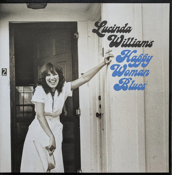 WILLIAMS, LUCINDA : HAPPY WOMAN BLUES (2018) LP REPRESS OF 1980 RELEASE