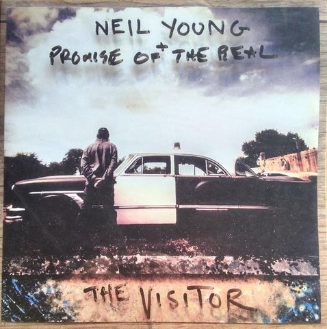 YOUNG, NEIL & PROMISE OF THE REAL : THE VISITOR (2018) 2LP ETCHED VINYL IN GATEFOLD SLEEVE