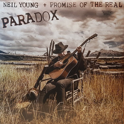 YOUNG, NEIL & PROMISE OF THE REAL : PARADOX (2018) 2LP ETCHED VINYL IN GATEFOLD SLEEVE