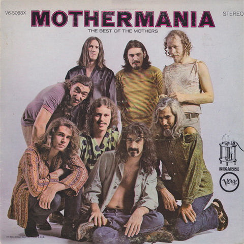 ZAPPA, FRANK & THE MOTHERS OF INVENTION : MOTHERMANIA (1969) LP 2019 STEREO REISSUE 180 GRAM