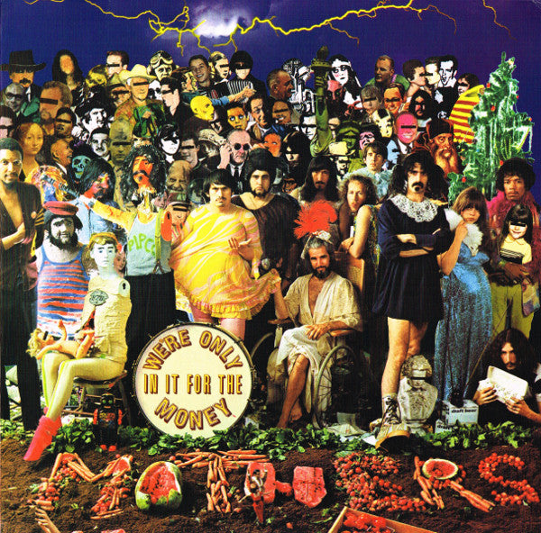 ZAPPA, FRANK & THE MOTHERS OF INVENTION : WE'RE ONLY IN IT FOR THE MONEY (1968) LP 2012 REPRESS GATEFOLD SLEEVE