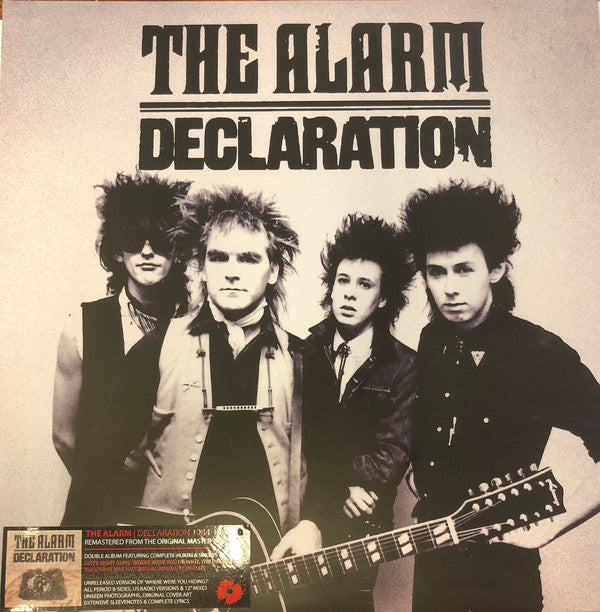 ALARM, THE : DECLARATION (1984) 2LP 2018 REMASTERED EXPANDED REISSUE