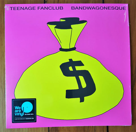 TEENAGE FANCLUB : BANDWAGONESQUE (1991) LP 2018 REMASTERED REISSUE WITH 7 INCH SINGLE