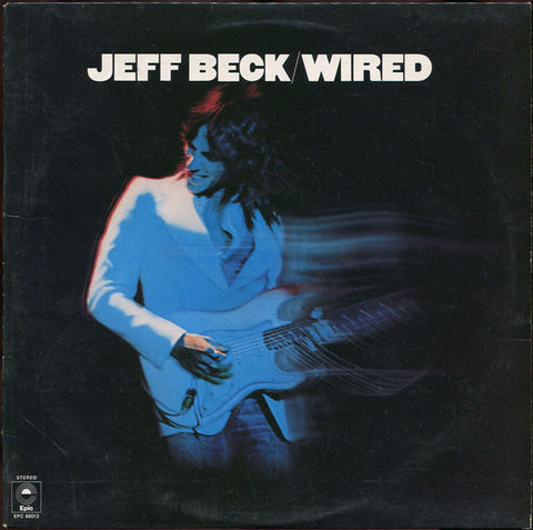 "BECK , JEFF : "" WIRED "" (1976) LP ( NEAR MINT ) ( RACK J .80 )"