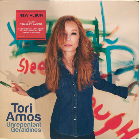 "AMOS , TORI : "" UNREPENTANT GERALDINES "" (2014) 2LP ( NEAR MINT ) ( RACK J . 96 )"