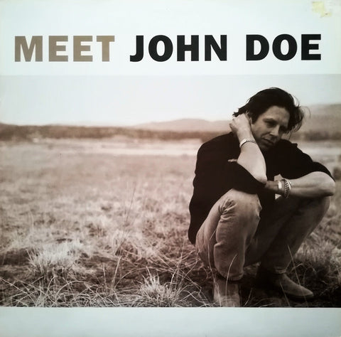 "DOE , JOHN : "" MEET JOHN DOE "" (1990) LP ( NEAR MINT ) ( RACK G . 21 )"