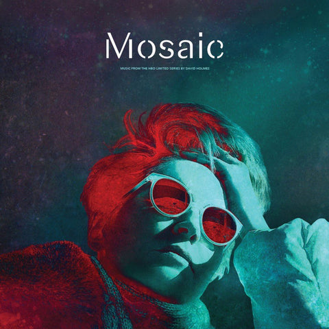"HOLMES , DAVID  : "" MOSAIC - MUSIC FROM H.B.O LIMITED SERIES  ( RED VINYL ) "" (2018) LP ( NEAR MINT ) ( RACK F . 24 )"
