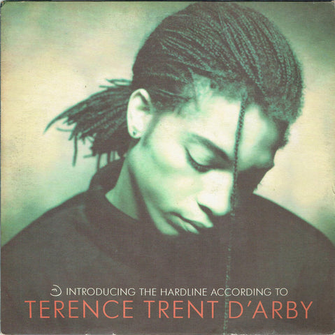 "D'ARBY , TERRENCE TRENT : "" INTRODUCING THE HARDLINE ACCORDING TO (  LP )  (1987) USED LP ( NEAR MINT / VERY GOOD PLUS ) ( RACK J .97 )"