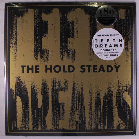 "HOLD STEADY , THE  : "" TEETH DREAMS (  2LP )  (2014) USED LP (  VERY GOOD PLUS / NEAR MINT ) ( RACK D .25 )"