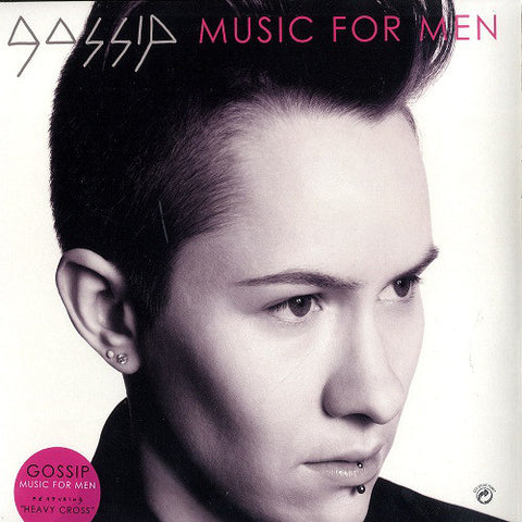 "GOSSIP : "" MUSIC FOR MEN (  2LP )  (2009) USED LP ( VERY GOOD PLUS / NEAR MINT ) ( RACK P .54 )"