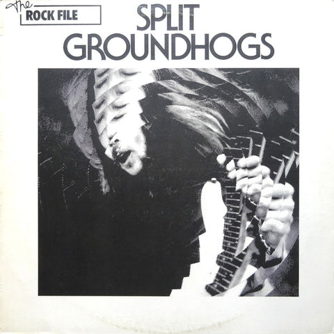 "GROUNDHOGS : "" SPLIT ( LP REISSUE ) (1971) USED LP ( VERY GOOD PLUS / NEAR MINT ) ( RACK P .82 )"