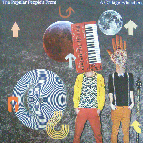 "POPULAR PEOPLES FRONT, THE : "" A COLLAGE EDUCATION "" (2007) 12INCH ( NEAR MINT )"