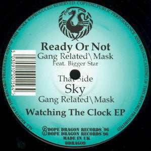 "GANG RELATED / MASK : "" READY OR NOT / SKY "" (1996) 12INCH ( NEAR MINT ) DOPE DRAGON RECORDS"